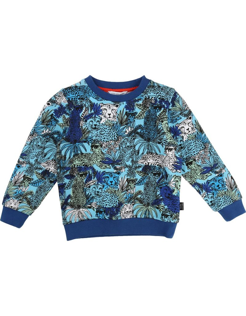 Little Marc Jacobs Little Marc Jacobs Fleece Sweater, all-over pattern.