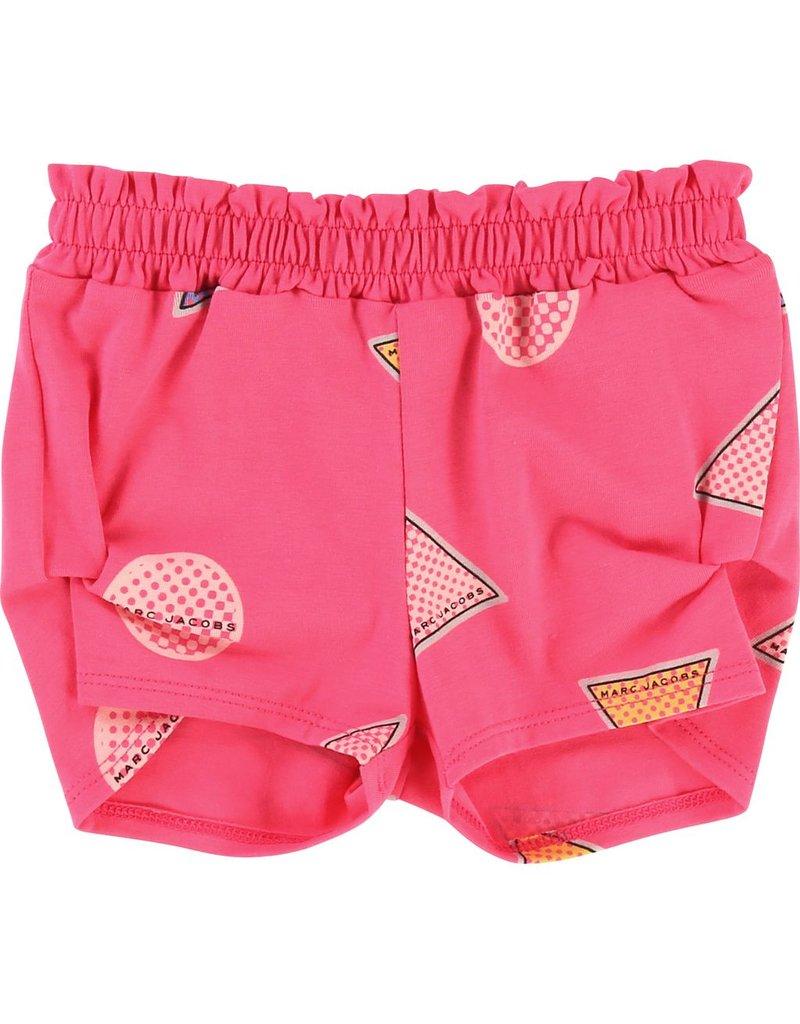 Little Marc Jacobs Little Marc Jacobs Jersey lycra Shorts, elasticated waist, all-over logo pattern.