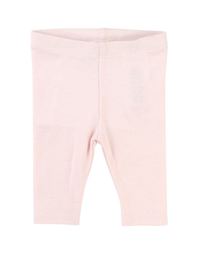 Carrement Beau Carrement Beau Cotton knit leggings, elasticated waist, logo patch on the waist.
