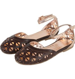 Carrement Beau Carrement Beau Leather Ballerinas, ankle strap