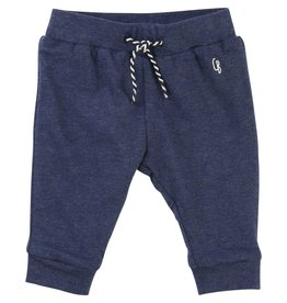 Carrement Beau Carrement Beau Cotton heather jersey Trousers, elasticated waist, string at the waist, brand print.