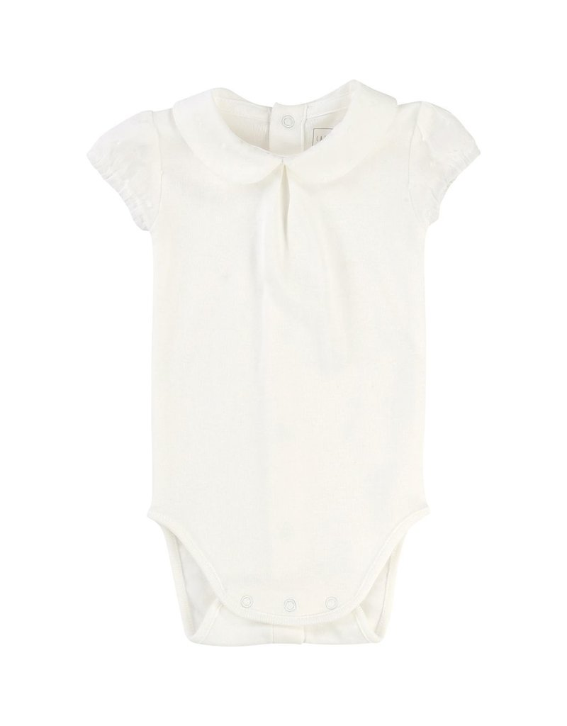 Carrement Beau Carrement Beau Cotton knit Bodysuit, peter pan collar