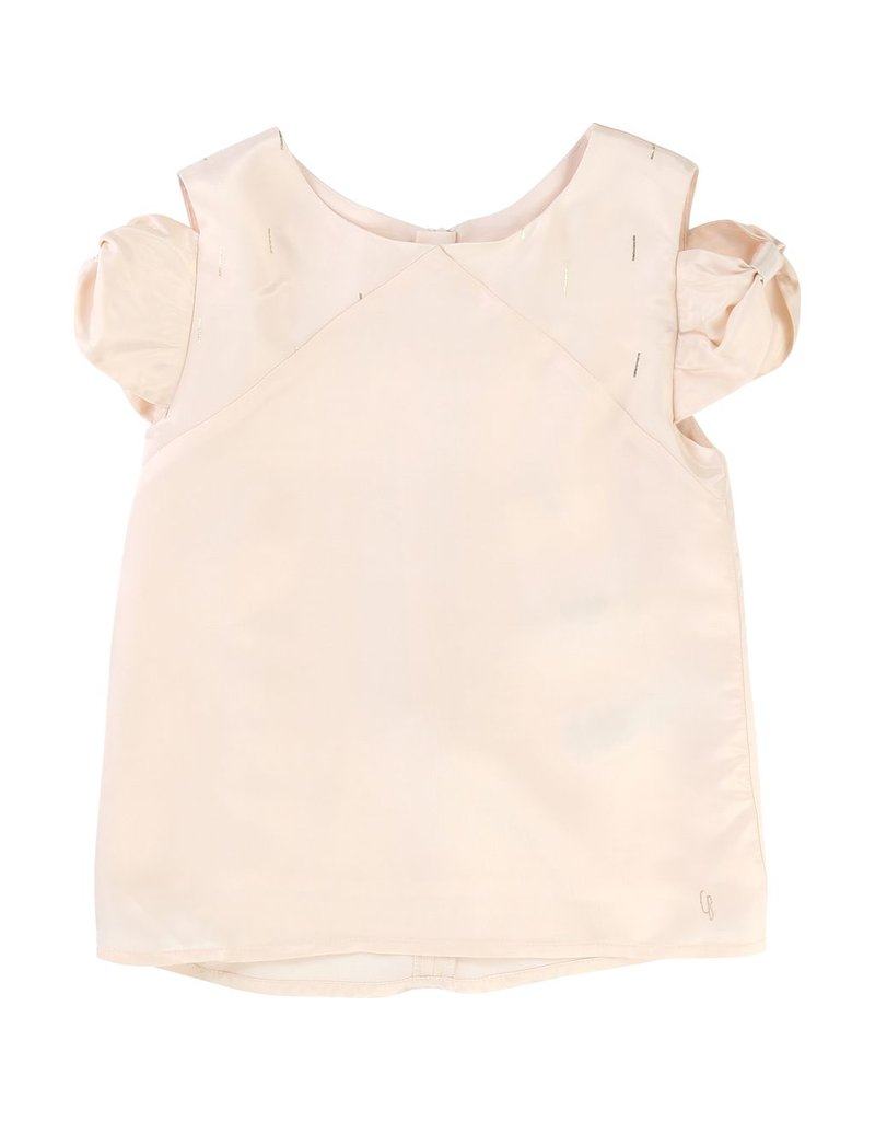 Carrement Beau Carrement Beau Blouse with bow effect gathering
