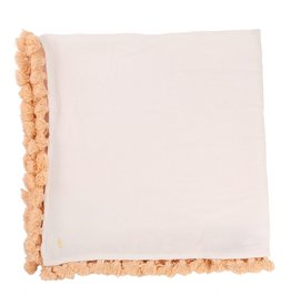 Carrement Beau Carrement Beau Cotton Chech, pompoms, brand print.