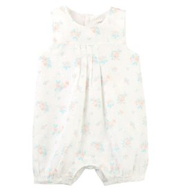 Carrement Beau Carrement Beau Cotton Plumetis Short Overalls