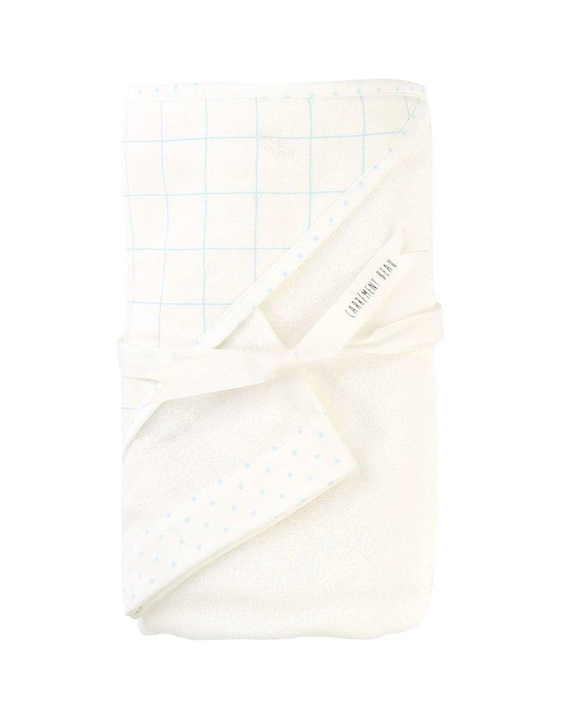 Carrement Beau Carrement Beau Towel and washing mitt
