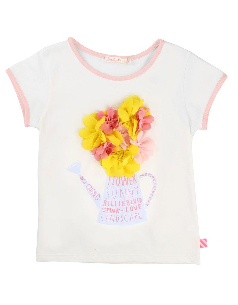 Billie Blush Billie Blush Cotton jersey Tee Shirt
