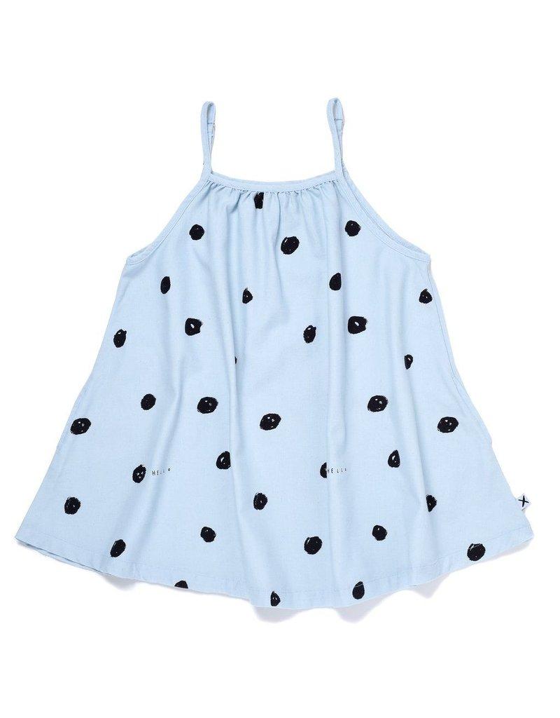 Minti Minti Happy Dots Chambray Dress