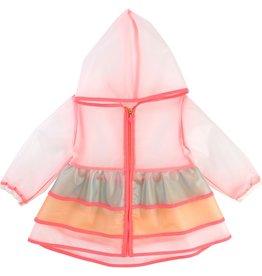 Billie Blush Billie Blush Hooded raincoat