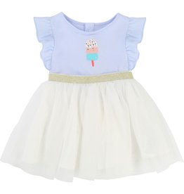 Billie Blush Billie Blush Cotton jersey tulle Dress