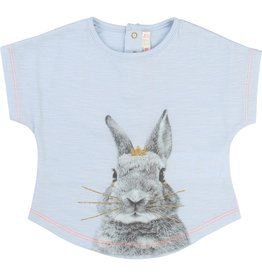 Billie Blush Billie Blush Cotton Bunny Print Tee