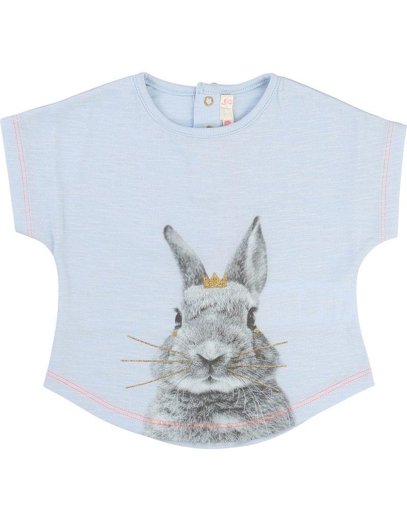 Billie Blush Billie Blush Cotton Bunny Print Tee