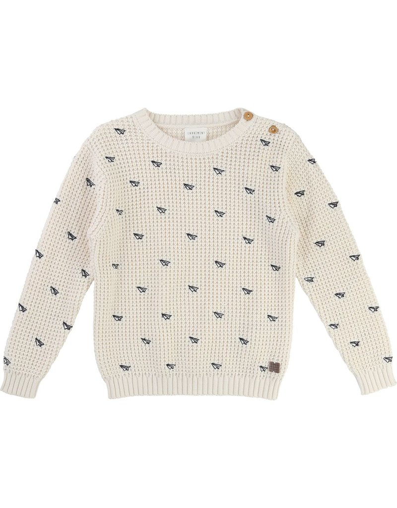 Carrement Beau Carrement Beau Cotton Knitted Sweater