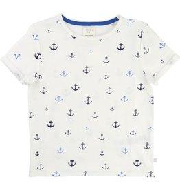 Carrement Beau Carrement Beau Cotton jersey Anchor Tee Shirt, short sleeves