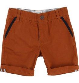 Carrement Beau Carrement Beau Cotton twill Bermuda Shorts, elasticated waist