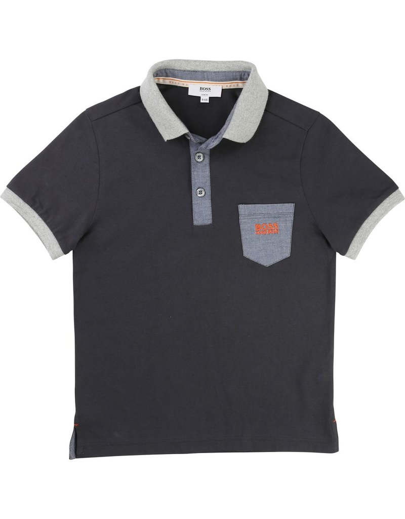 Hugo Boss Hugo Boss Cotton jersey polo shirt
