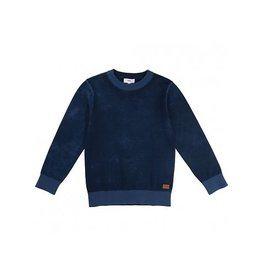 Hugo Boss Hugo Boss Cotton knitted sweater + leather label.