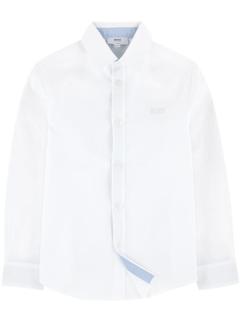 Hugo Boss Hugo Boss End to end thread cotton shirt, contrasted details