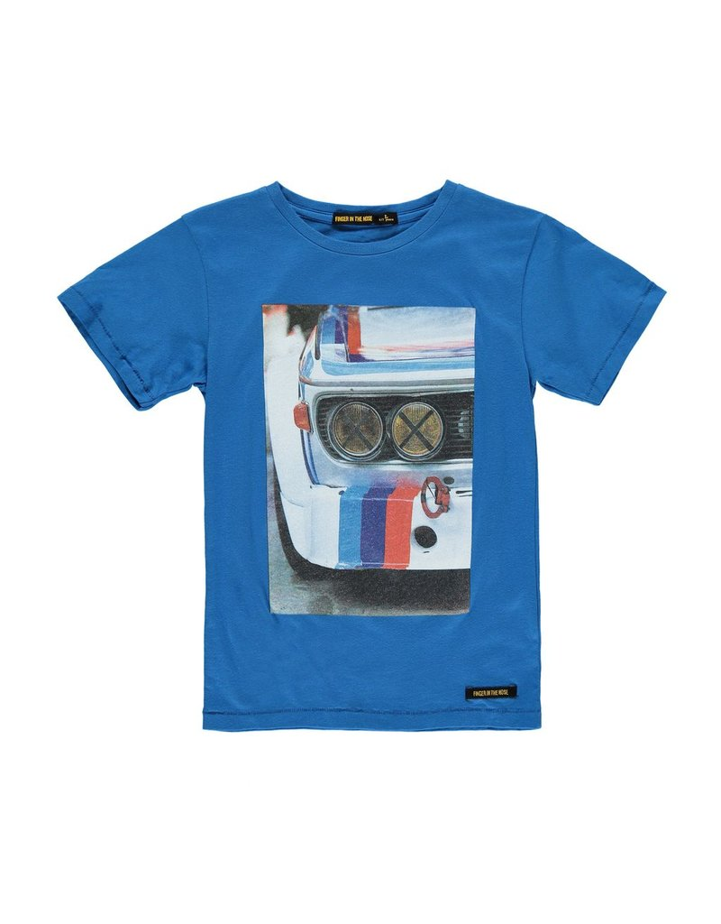 Finger in the Nose Finger in the Nose Dalton Fast Blue Race Tee