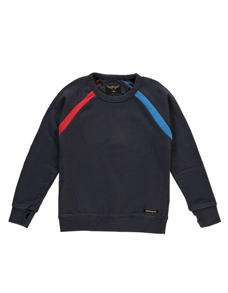 Finger in the Nose Finger in the Nose Hank Super Navy Sweatshirt