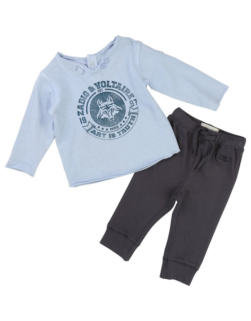 Zadig and Voltaire Zadig & Voltaire T-SHIRT + PANT SET