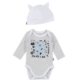 Karl Lagerfeld Kids Karl Lagerfeld BODY+PULL ON HAT SET