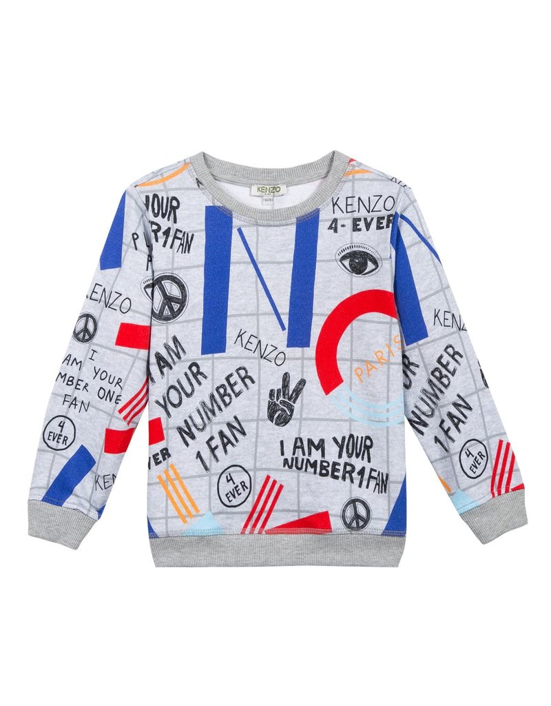 Kenzo Kenzo All over Print Sweater