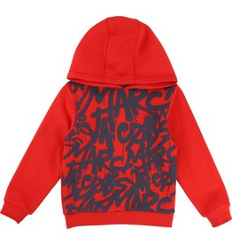 Little Marc Jacobs Little Marc Jacobs HOODED SWEATSHIRT