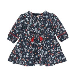 Fox & Finch Fox & Finch FOLK FLORAL PRINT DRESS