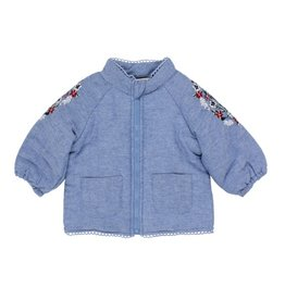 Fox & Finch Fox & Finch FOLK QUILTED CHAMBRAY JACKET