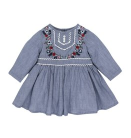 Fox & Finch Fox & Finch FOLK DRESS W EMBROIDERY