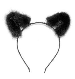 Mink Cat Ear Headband