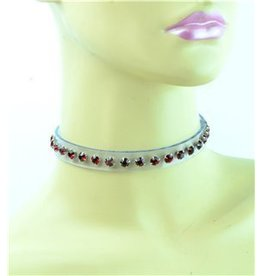 Clear Rhinestone Collar