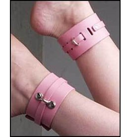 Kink Lab Leather Ankle Cuffs