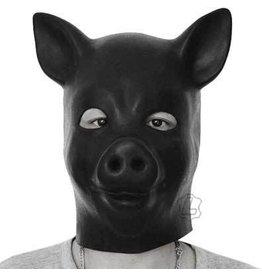 Latex Pig Hood