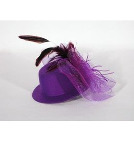 Feather Top Hat Fascinator