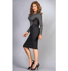 Sexy Pencil Skirt - Black-L