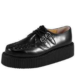 Leather Mondo Sole Creeper