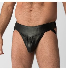Perforated Leather Jock