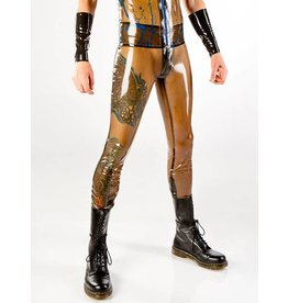 Men's Latex 4-Zip Leggings