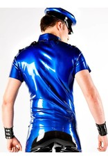 Latex Police Uniform Shirt