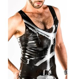Marbled Latex Tank Top
