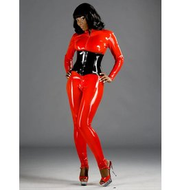 Latex Front Zip Catsuit