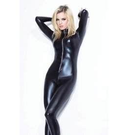 Wetlook Catsuit W/Front Zipper