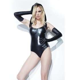 Wetlook Hooded Bodysuit
