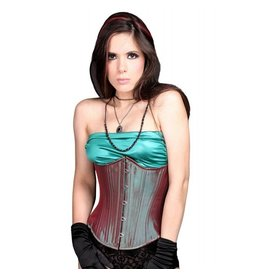 Iridescent Silk Cincher