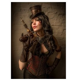 Steampunk Pirate Long Cincher