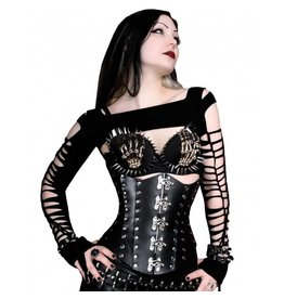 Hard Leather Cincher W/Latches