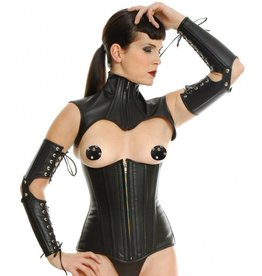 Leather Corset Topper