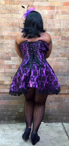Skirted Overbust Corset